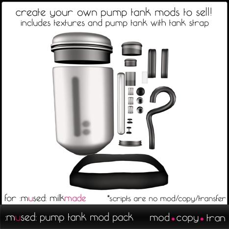 pump tank mod kit adv