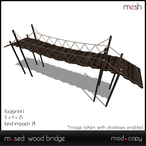 wood bridge adv