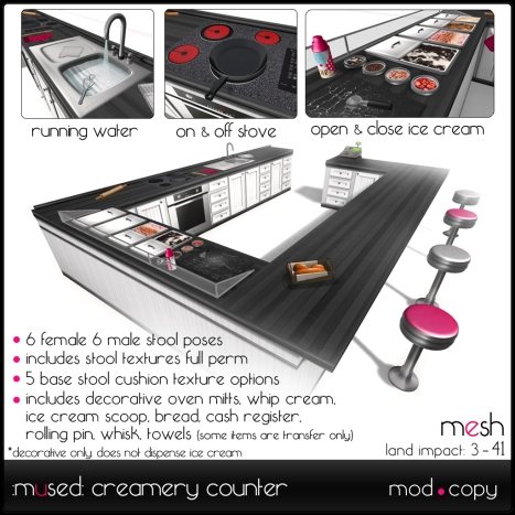 :mused: Creamery Counter