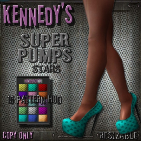 Kennedy's Super Pumps Stars HUD-HFTC Gift copy