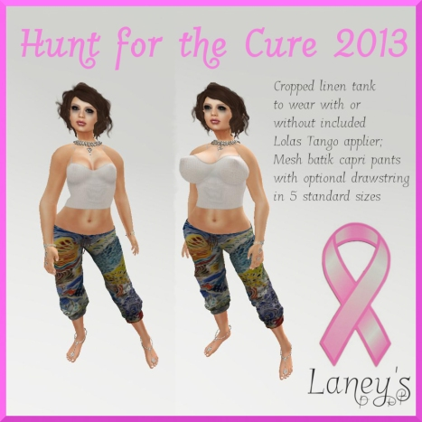Laney's Boutique Hunt for the Cure Charity Gift