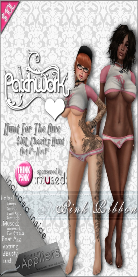PWH Hunt Advert -  Pink Ribbon - Hunt For The Cure