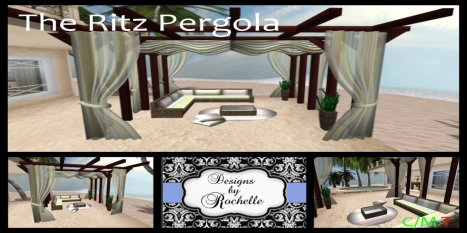 The Ritz pergolatext Duskfly Designs
