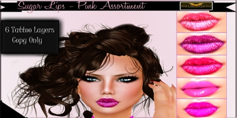Pallas Athena Sugar-Lips (Pink-Assortment)