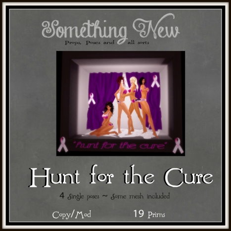 Something New ~ Hunt for the Cure