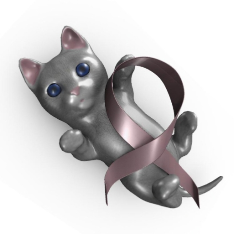 (Surge) Breast Cancer Awareness Kitten