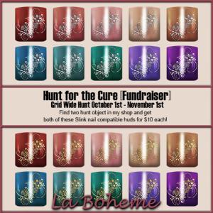 La Boheme Hunt for the Cure Prizes