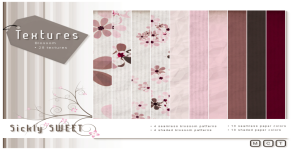 {Sickly SWEET} Textures - Blossom