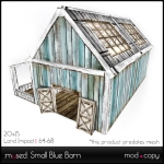 Small Blue Barn