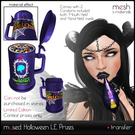 Halloween 2015 LE Prizes
