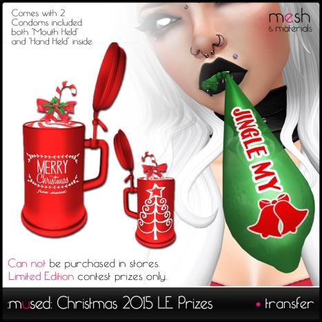 Christmas 2015 Prizes