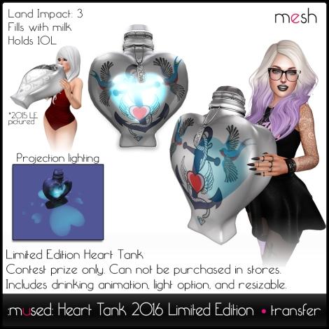 2016 Heart Tank LE Adv